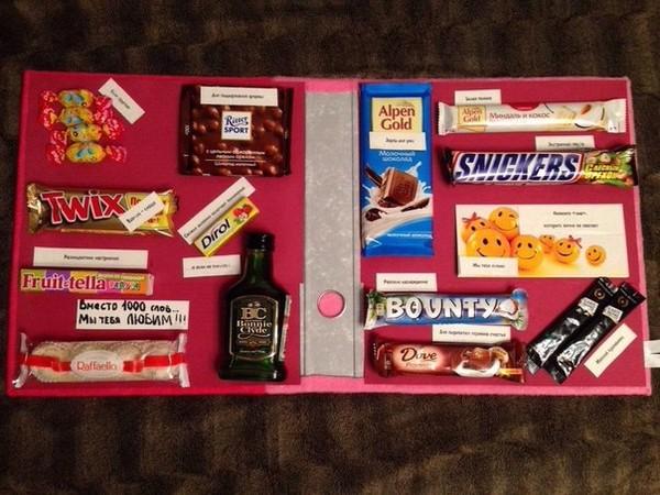Подарок для друзей на день рождения своими руками