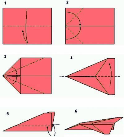 Как можно сделать из бумаги самолетик