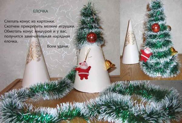 Поделки новогодние в детский сад пошагово 100