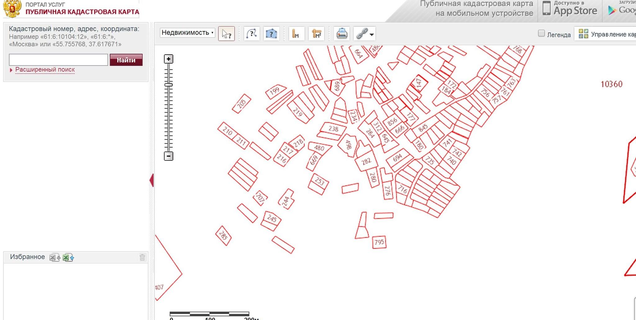 Как сделать выкопировку из публичной кадастровой карты