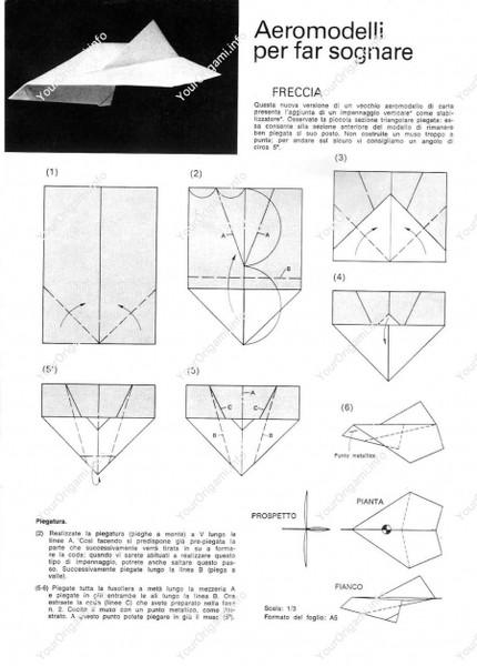 Оригами в картинках самолеты