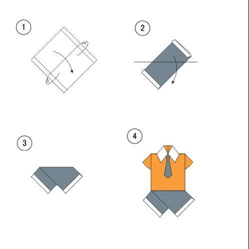 Как сделать одежду из бумаги