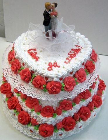 Поздравление на свадебный торт 742