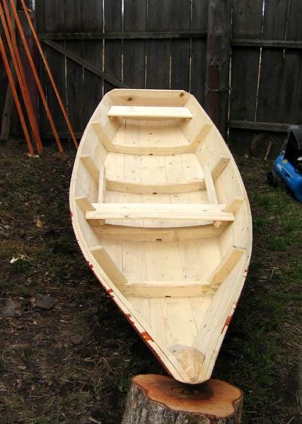 Лодка-плоскодонка из фанеры своими руками