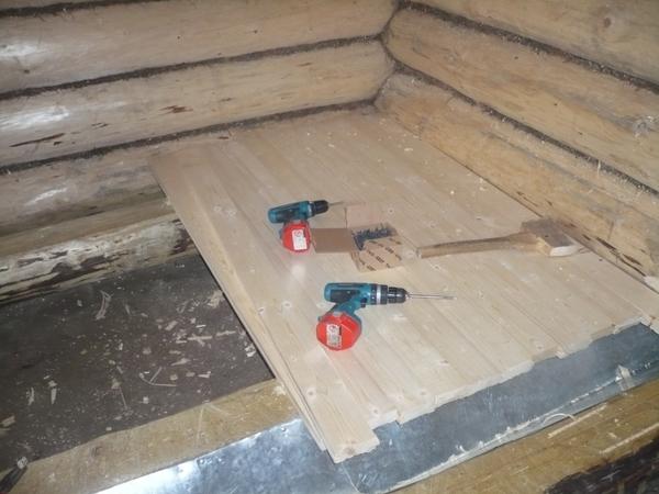 Как построить теплую баню