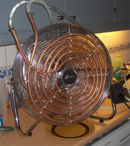 Как сделать домашний вентилятор