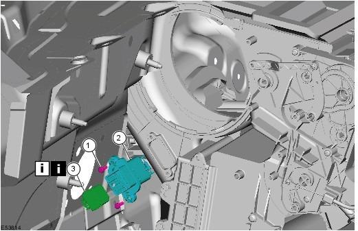 Форд фокус 2 где находится моторчик печки