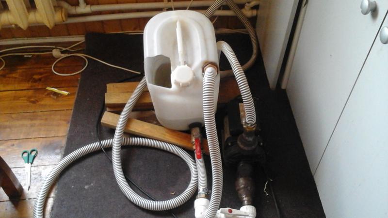 Аппарат для промывки теплообменников газовых котлов своими руками 100