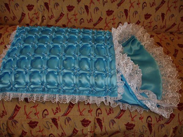 Как сшить своими руками уголок на одеяло