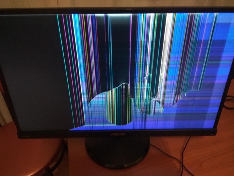 Как сделать так чтобы разбитый экран работал 200