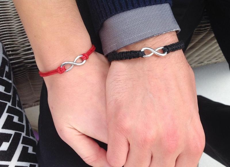 Молодежные браслеты на руку своими руками 643