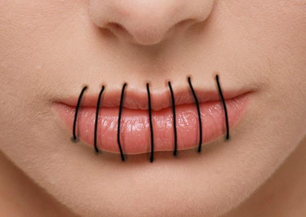 Сонник зашивать губы