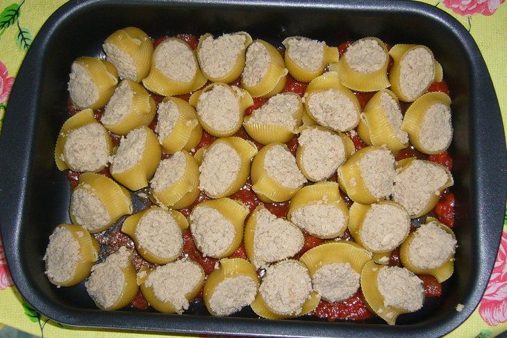 Фаршированные сапожки с сыром рецепт