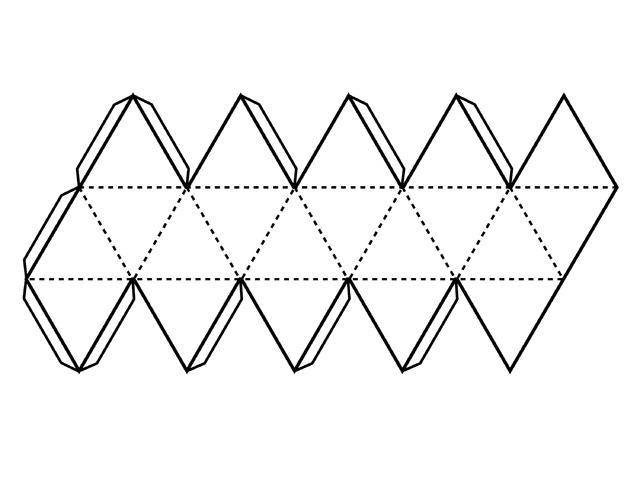 Как сделать из бумаги икосаэдр