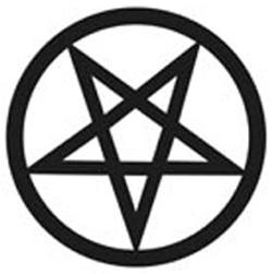 Рисунок знак дьявола