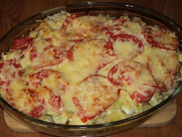 рецепт с картошкой и мясом с майонезом в духовке