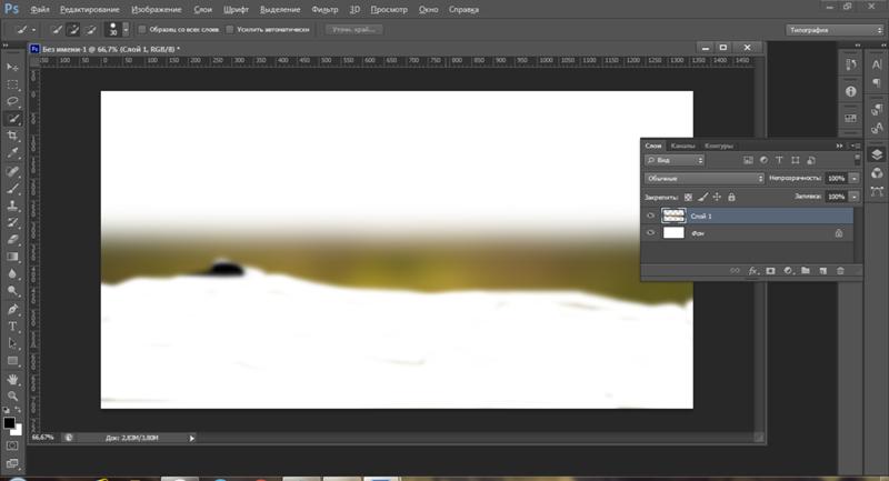 Как сделать размытый фон в фотошопе сс