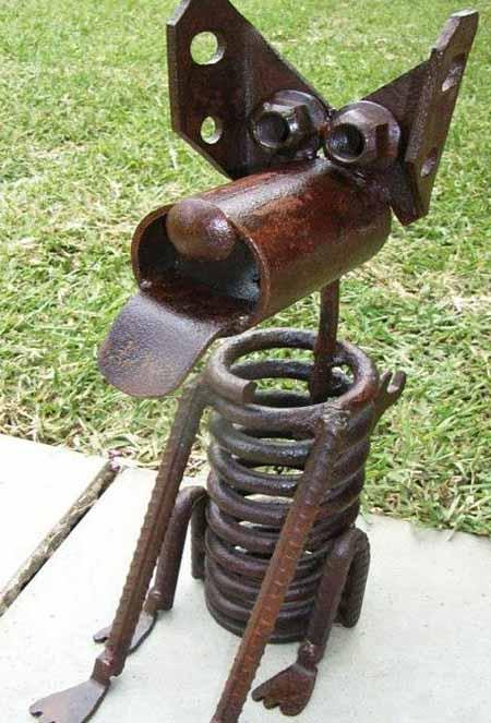 Декоративные поделки из металла своими руками