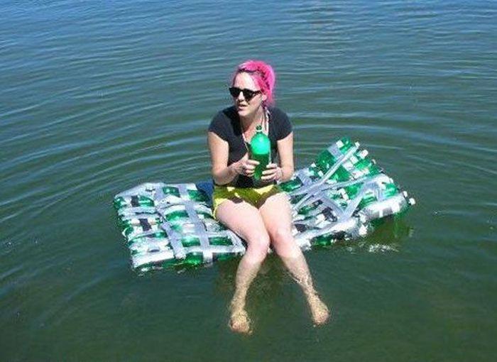 Матрас из пластиковых бутылок