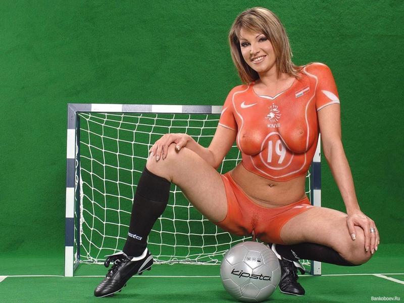 Футбол порно фото