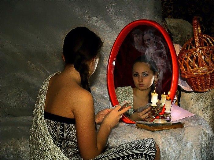 Гадание на зеркалах