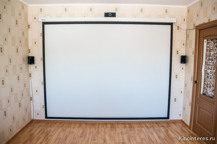 Экран своими руками для проектора