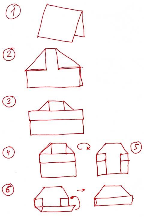 Как сделать строительную пилотку