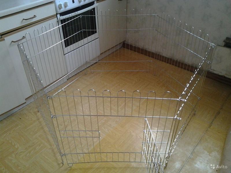 Загон для щенков в квартире своими руками 4