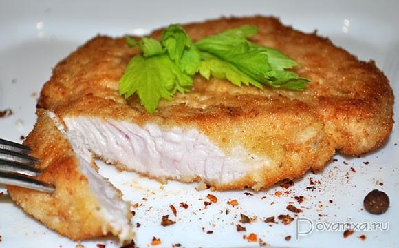 Отбивные из индейки с сыром в духовке рецепт с фото