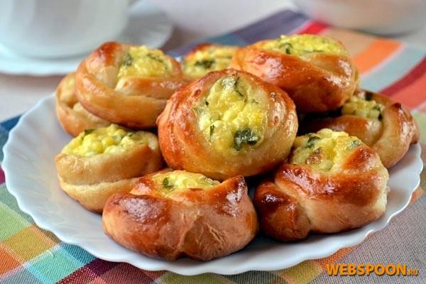 Фото рецепт булочек с начинкой