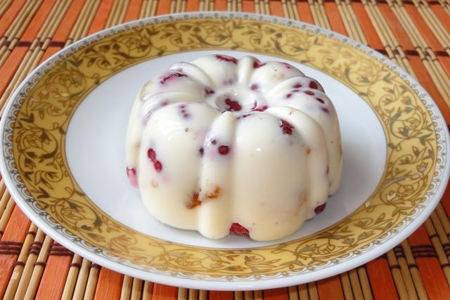 Рецепты десертов из желатина со сметаной