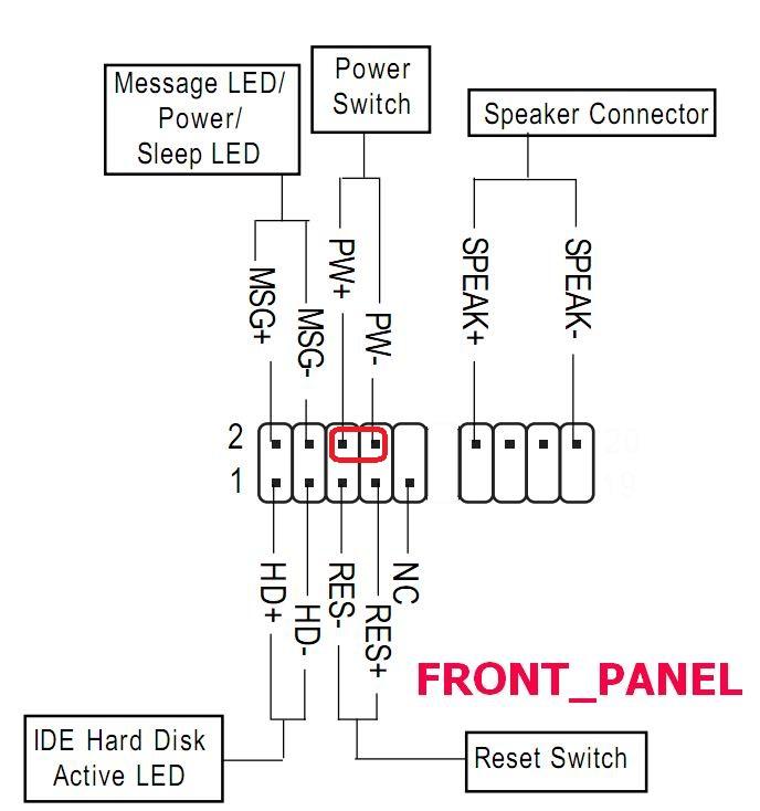 Схема подключения проводов включения к материнской плате   Блок нагрузок для проверки БП компьютера изготовление 134
