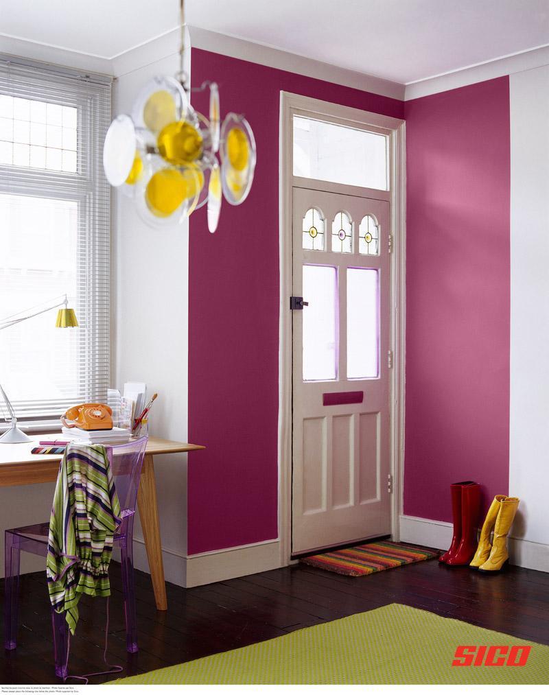 Фиолетовые стены фото