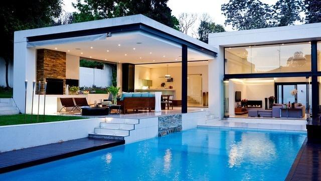 Фото домов бассейнами доме