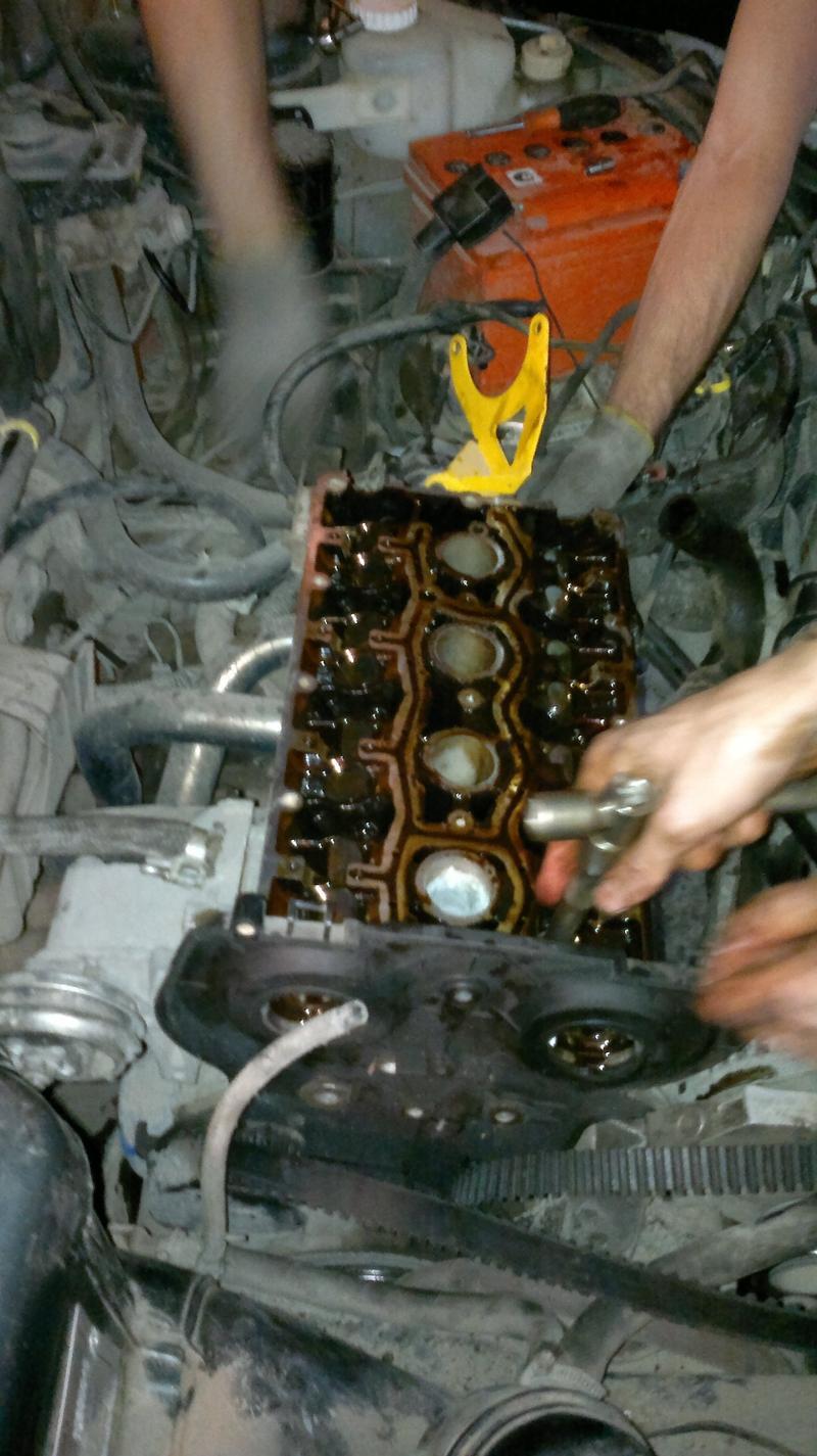 Своими руками ваз 2110 16 клапанов ремонт гбц