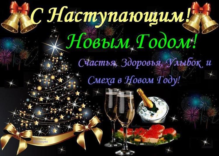 С наступающим новым годом мои