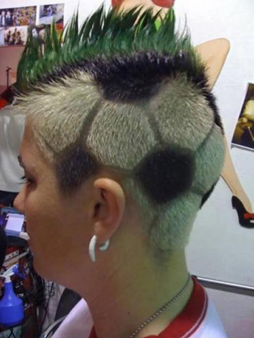 Прикольные модные причёски