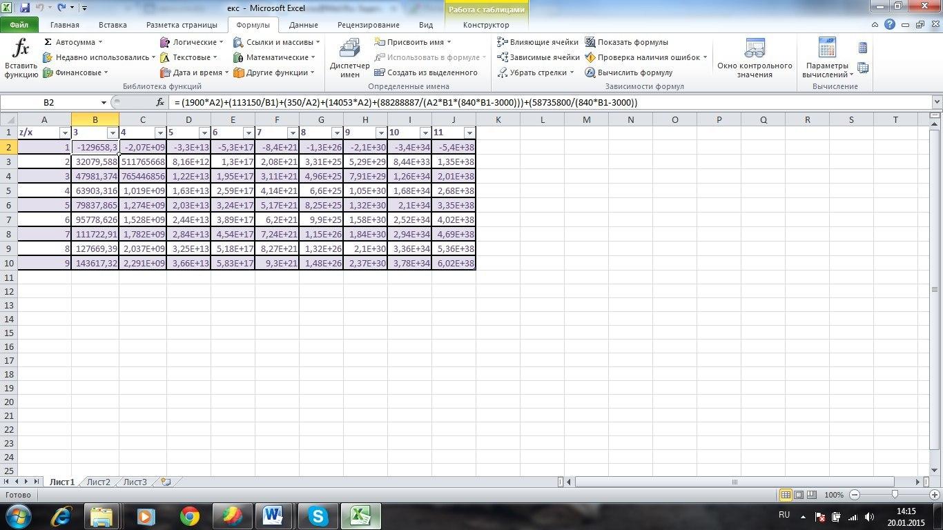 Как сделать график в excel с отрицательными значениями