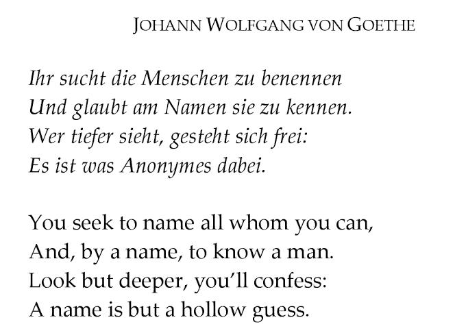 Стих по немецкий про любовь