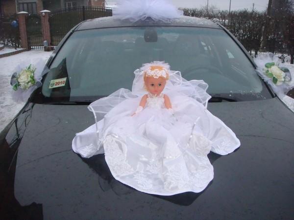 Кукла своими руками на свадебную машину