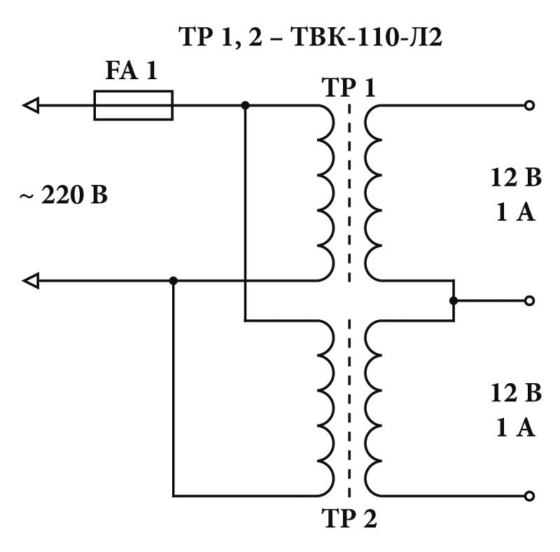 Трансформатор тпп224 127 220 50 электрическая схема