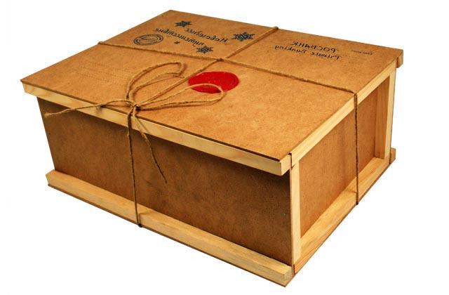 Как сделать ящик для посылки