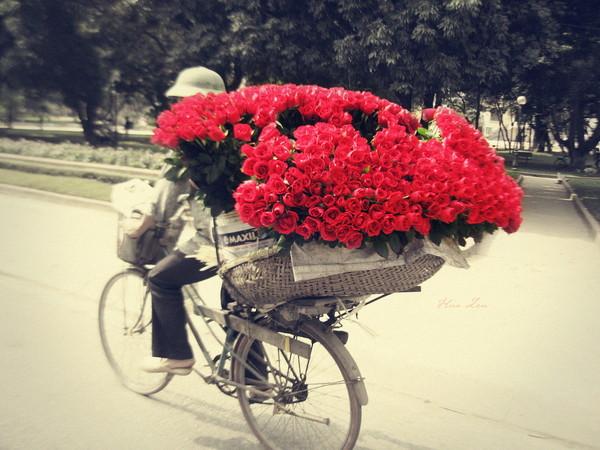 Фото на день рождения с цветами