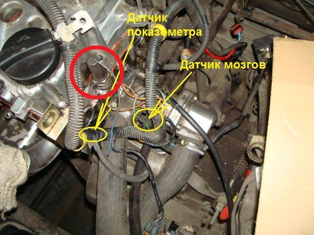 Ваз 2110 8 клапана где находиться датчик распредвала