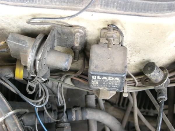 Ваз 21099 инжектор датчики где находятся