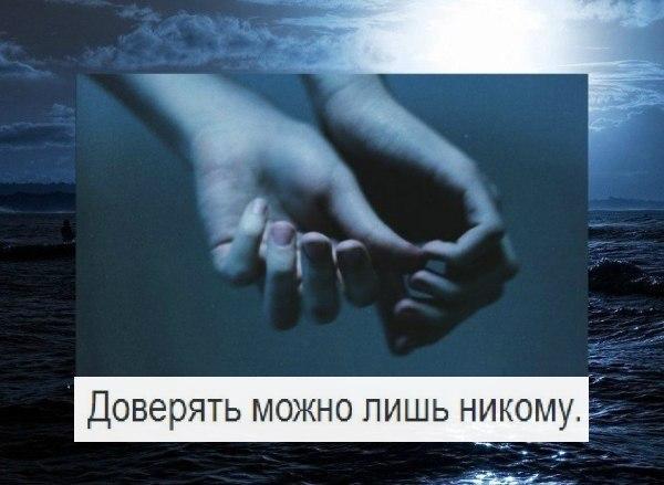 Статус не верь не кому в жизни