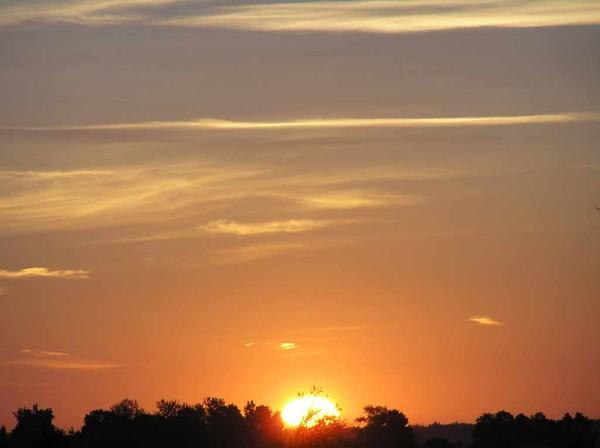 Картинки с добрым утром с рассветом