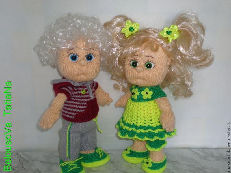 Ярмарка мастеров мастер класс вязаные куклы