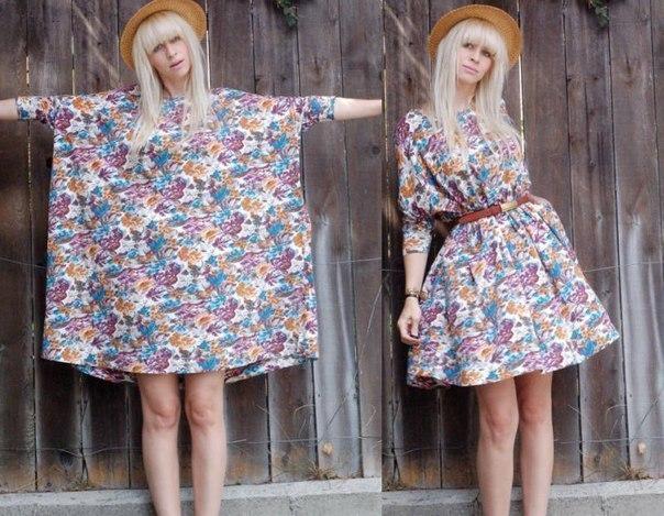 Простые платья своими руками фото