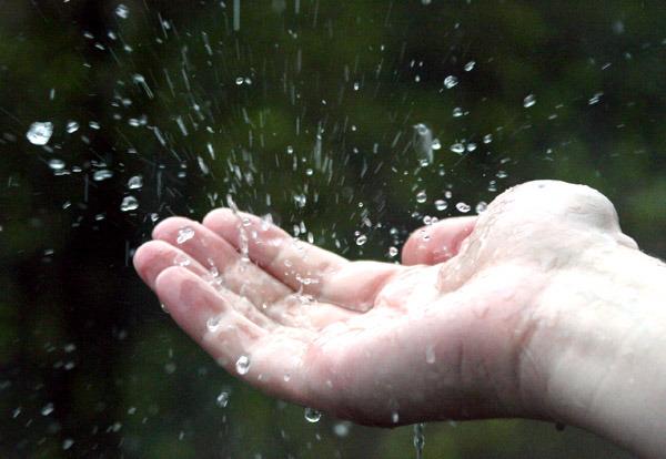 Дождик на руки